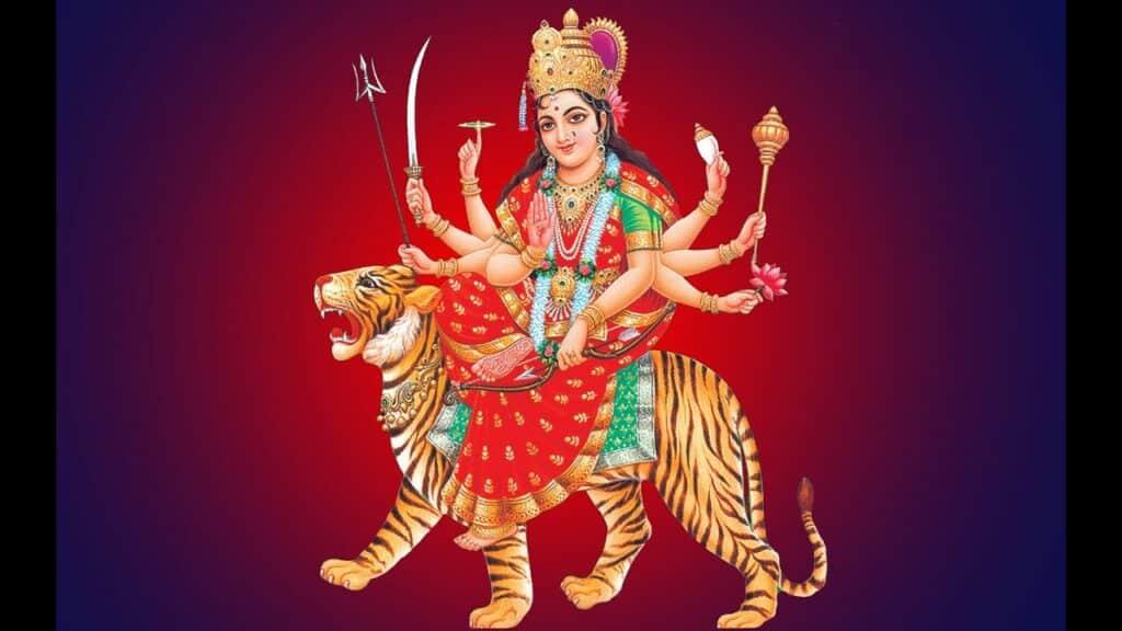 अनुराधा पौडवाल - अम्बे तू है जगदम्बे काली जय दुर्गे खप्पर वाली Lyrics In Hindi
