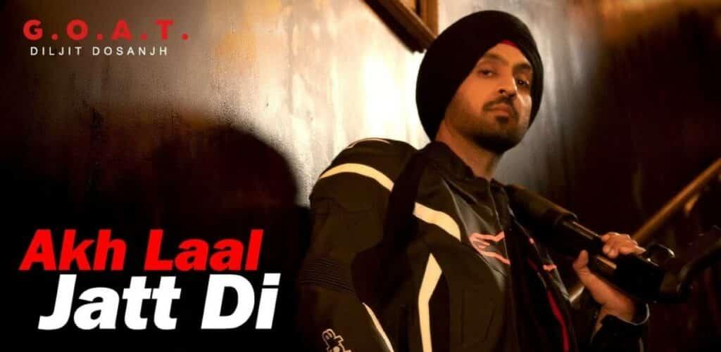 Akh Laal Jatt Di Lyrics In Hindi