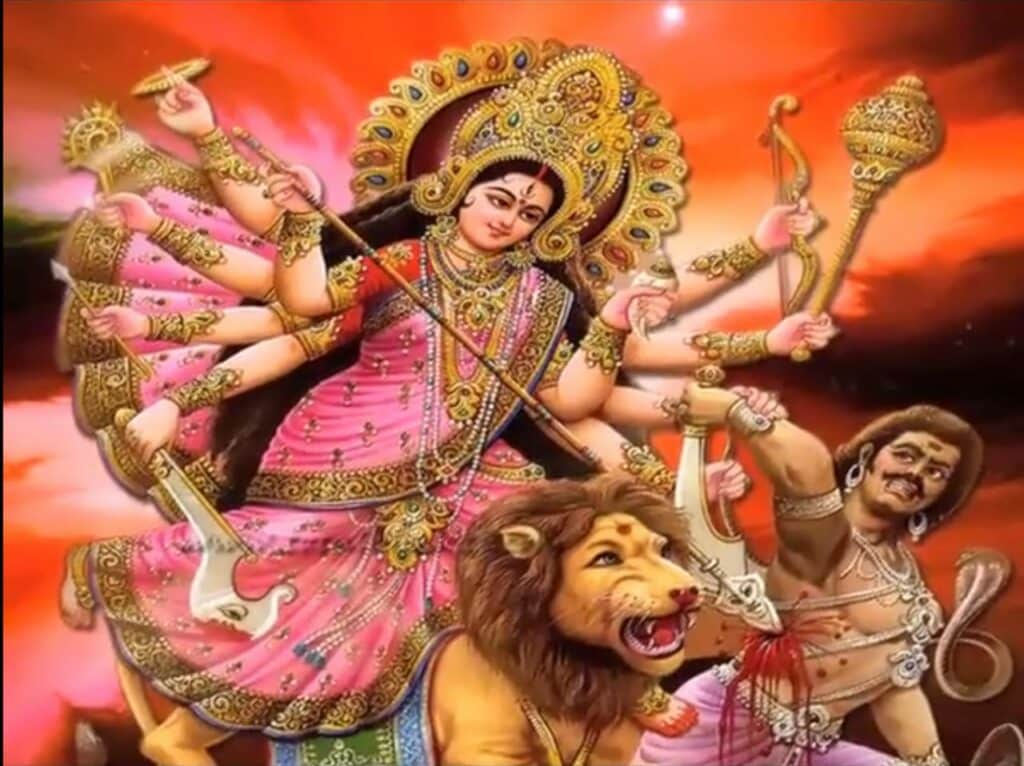 Durga Hai Meri Maa Ambe Hai Meri Maa Lyrics In Hindi