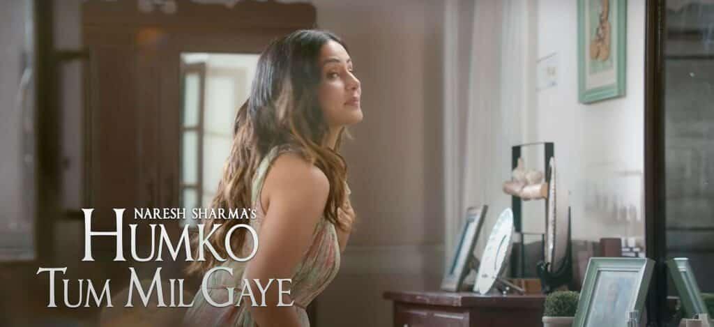 हमको तुम मिल गए Humko Tum Mil Gaye Lyrics In Hindi – Vishal Mishra | Hina Khan
