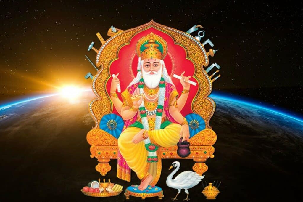 Vishwakarma aarti lyrics in Hindi