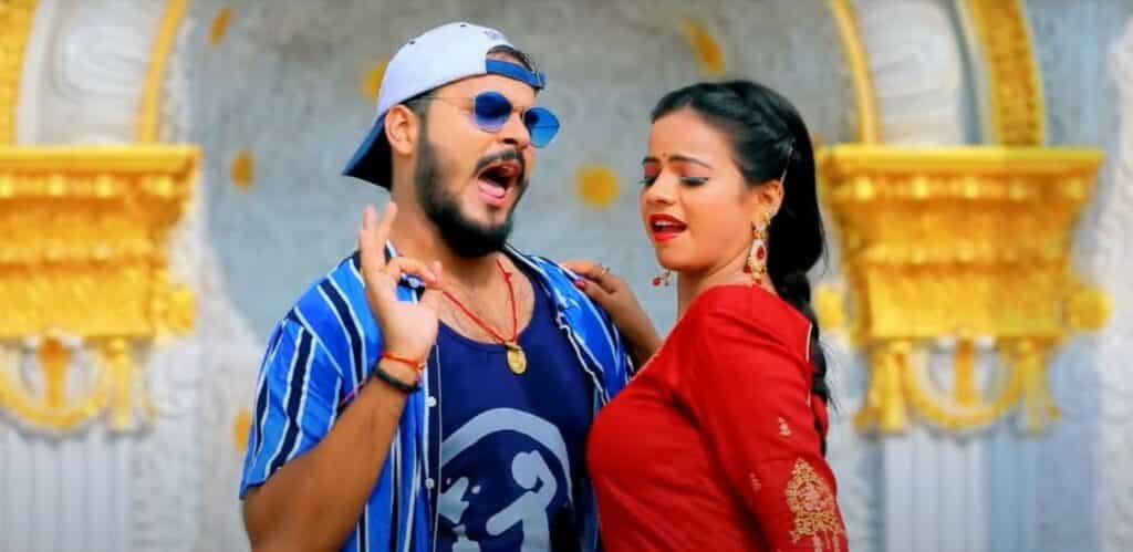 Aloo Chap Lagelu Lyrics In Hindi