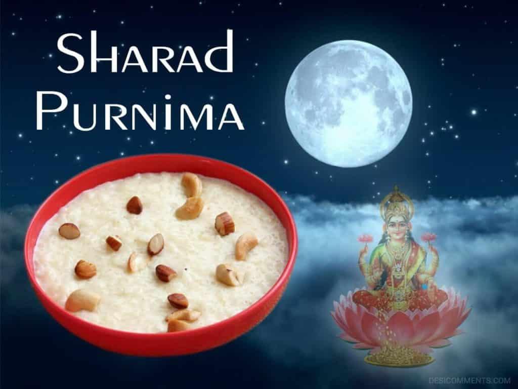 Sharad Purnima Date 2020
