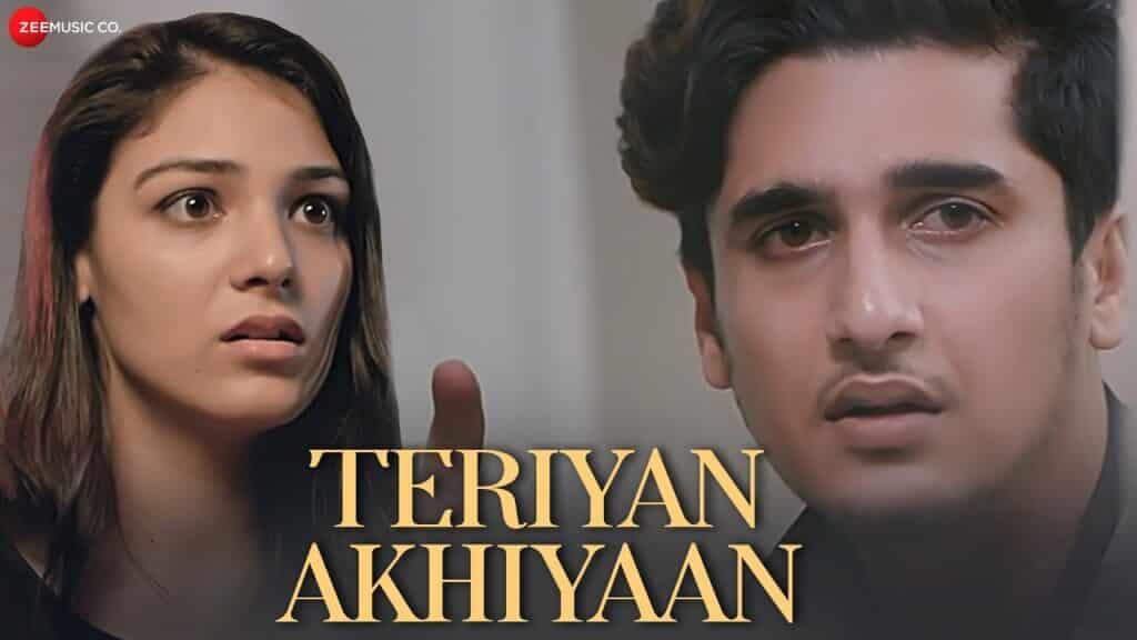 Teriyan Akhiyaan Lyrics In Hindi