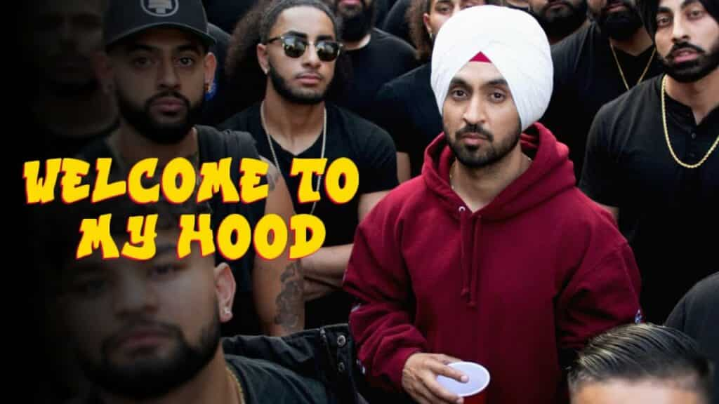 Welcome To My Hood Lyrics in Hindi