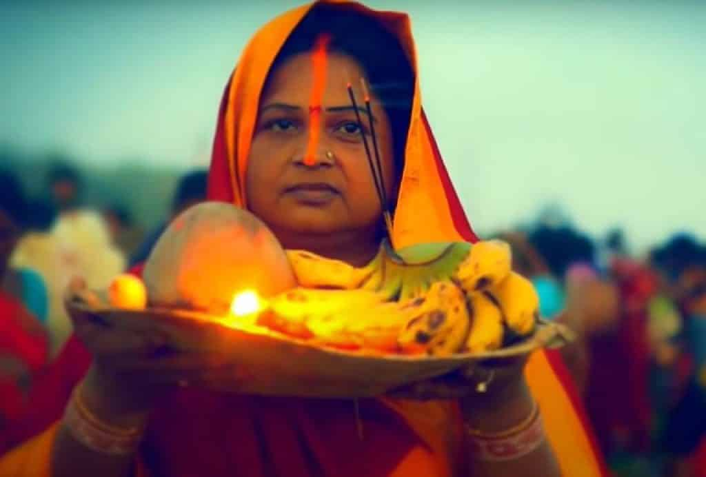 Chhath Ghate Chali Lyrics In Hindi