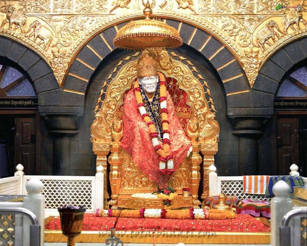 Sai Baba Aarti Lyrics In Hindi