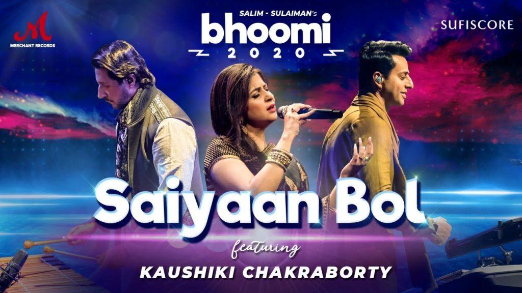 Saiyaan Bol Lyrics In Hindi