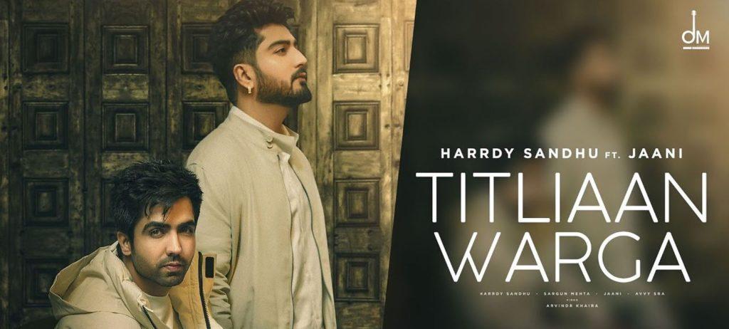 Titliaan Warga Lyrics In Hindi