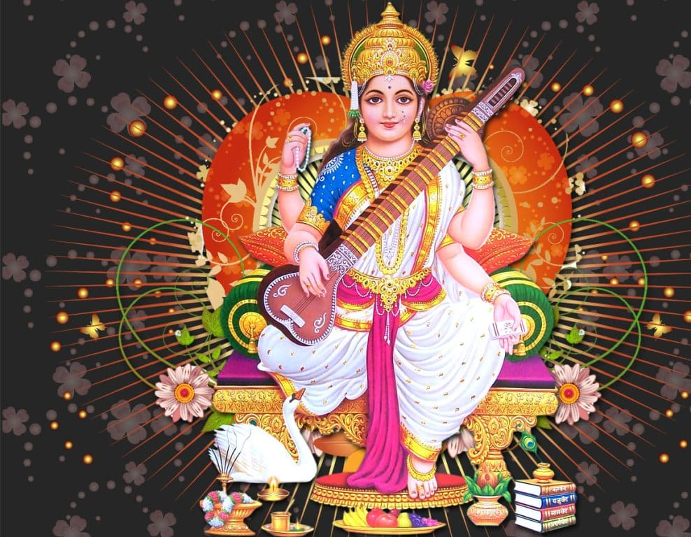 Saraswati Aarti Lyrics In Hindi