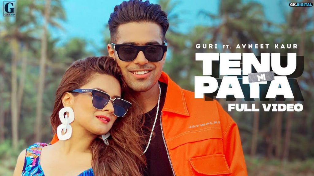 तैनू नी पता Tenu Ni Pata Lyrics In Hindi – Guri