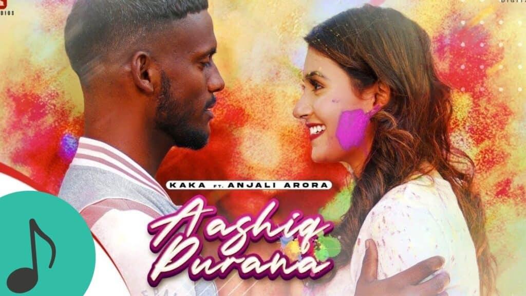 Aashiq Purana Lyrics In Hindi - Kaka X Adaab Kharoud, Anjali Arora
