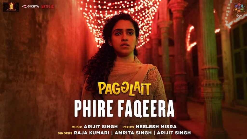 Phire Faqeera Lyrics In Hindi - Pagglait