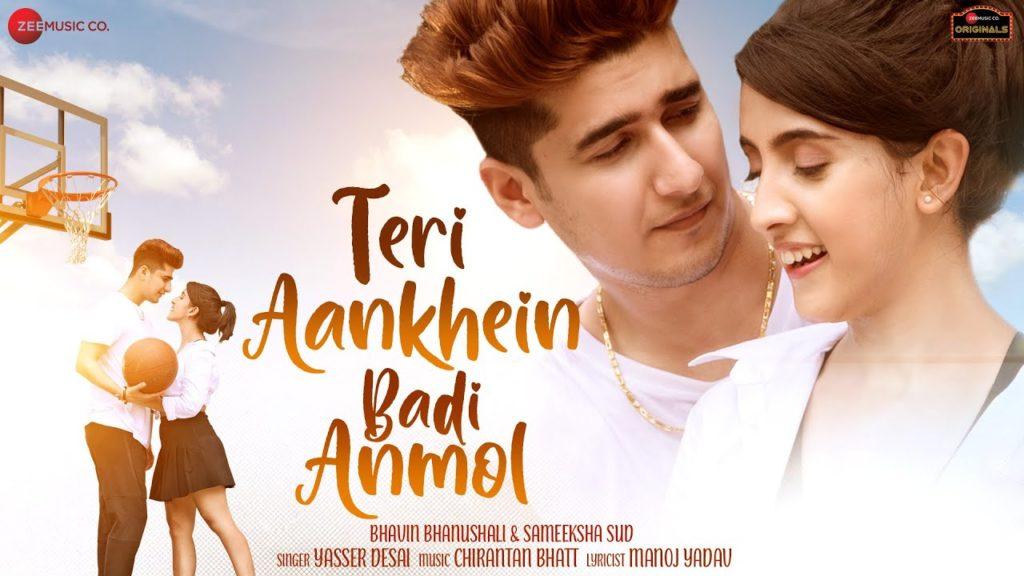 Teri Aankhein Badi Anmol Lyrics In Hindi - Yasser Desai