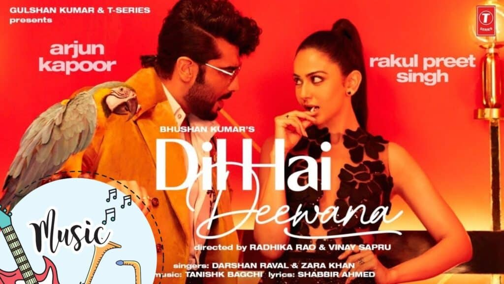 Dil Hai Deewana Lyrics In Hindi - Darshan Raval, Zara Khan