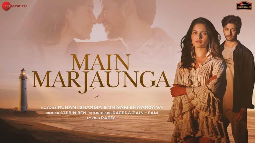 Main Marjaunga Lyrics In Hindi - Stebin Ben - Shivam Bhaargava - Ruhani Sharma