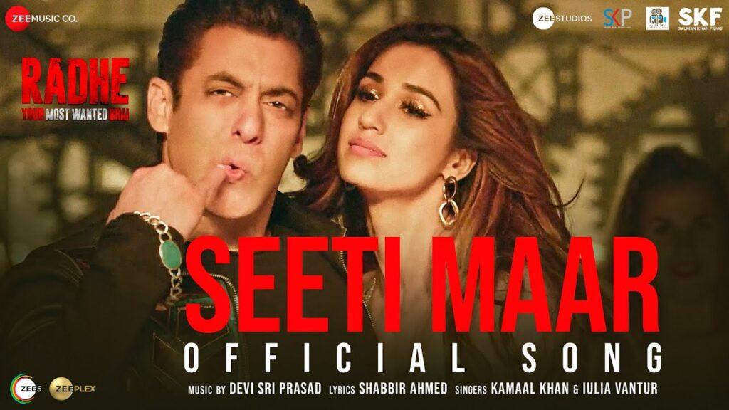 Seeti Maar Lyrics In Hindi - Radhe