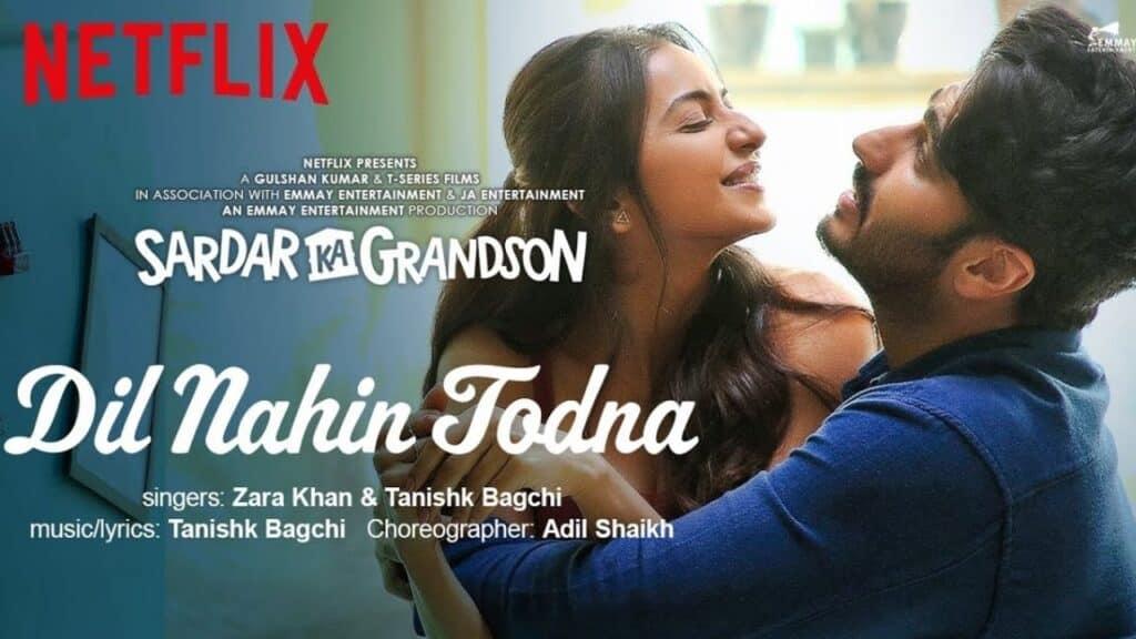 Dil Nahin Todna Lyrics In Hindi - Sardar Ka Grandson