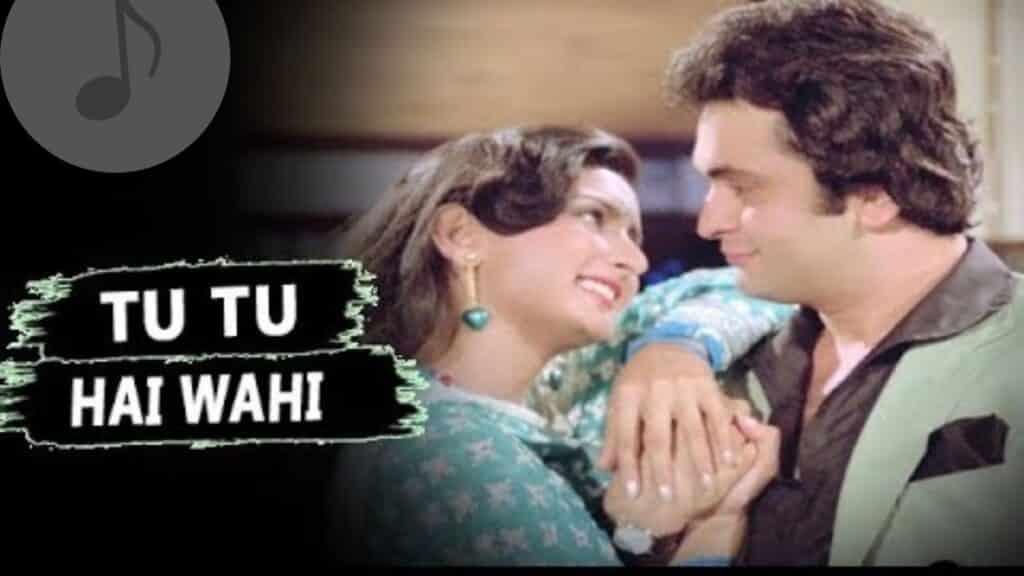 Tu Tu Hai Wahi Lyrics In Hindi - Yeh Vaada Raha