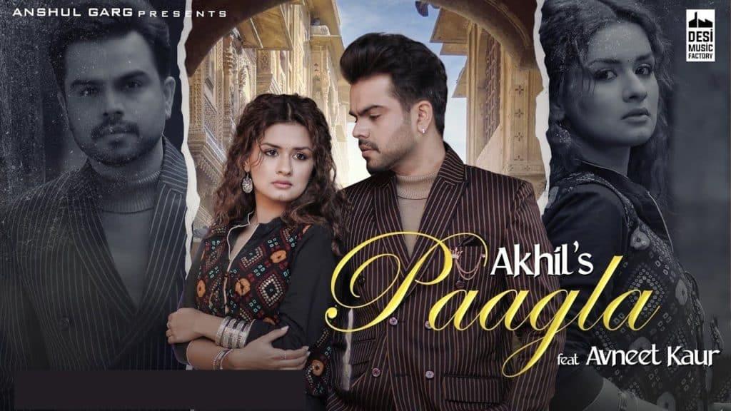 Paagla Lyrics - Akhil