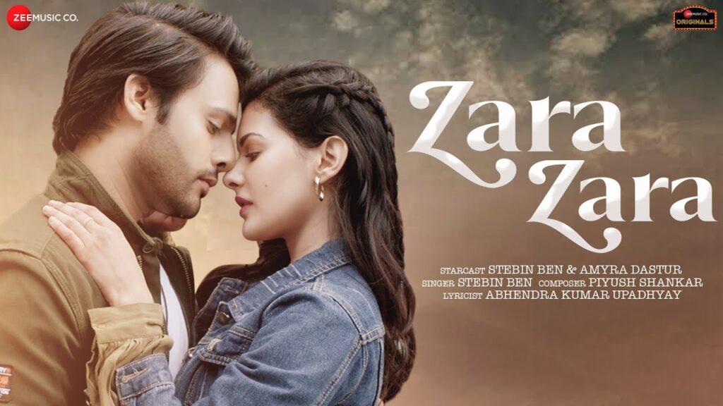 Zara Zara Lyrics - Stebin Ben & Amyra Dastur