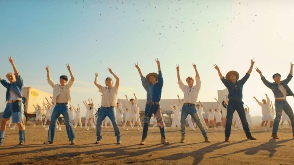 Permission To Dance Lyrics - BTS