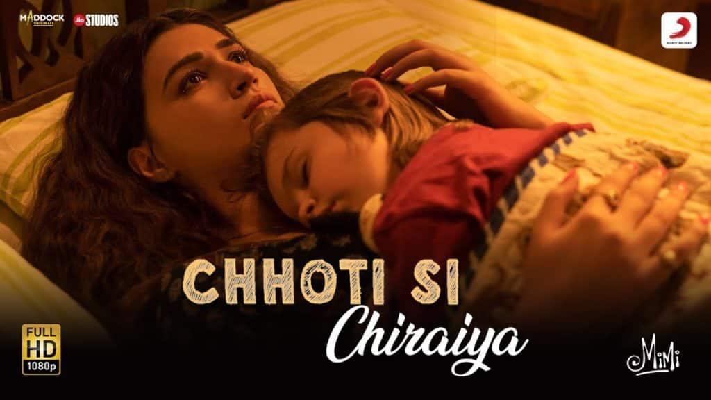 Chhoti Si Chiraiyya Lyrics - Mimi