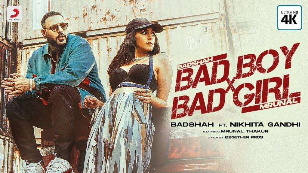 Bad Boy x Bad Girl Lyrics - Badshah, Nikhita Gandhi