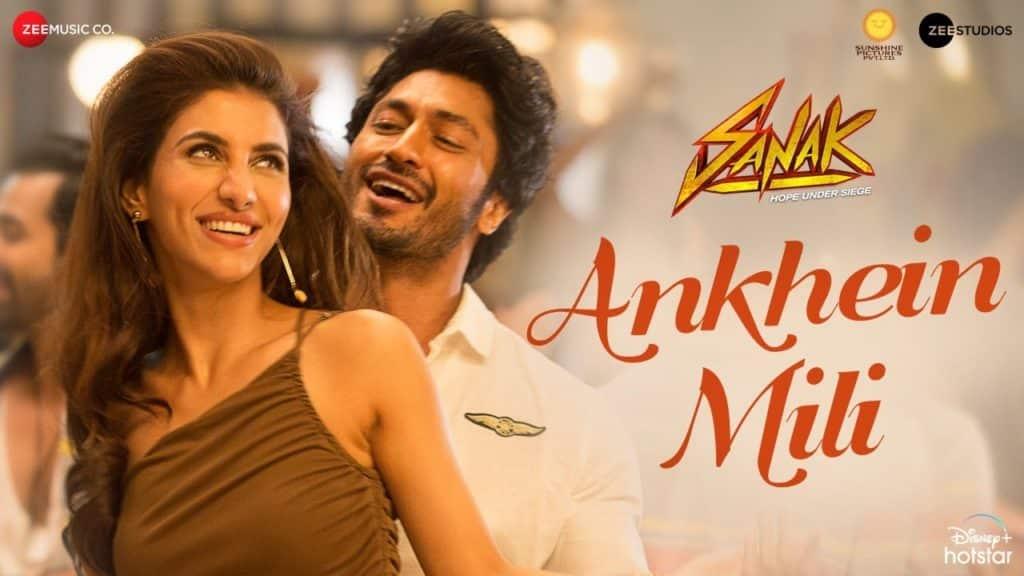 Ankhein Mili Lyrics - Sanak