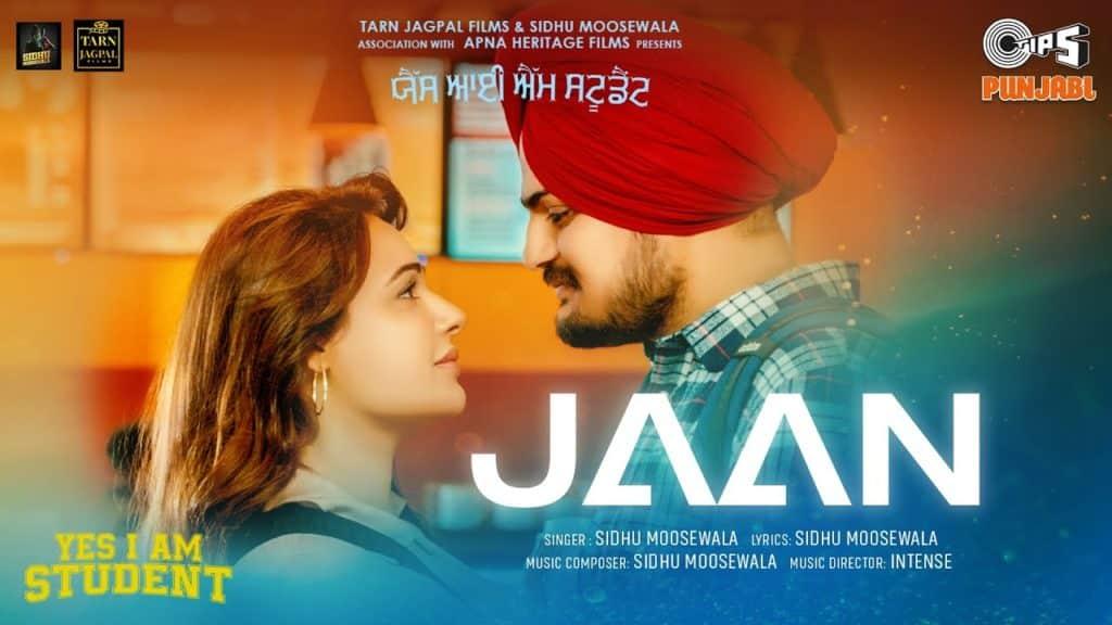 Jaan Lyrics - Sidhu Moosewala